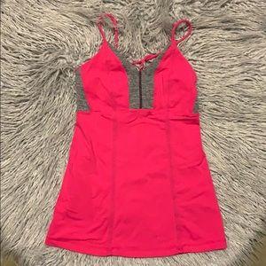 Lululemon Tank Pink/Grey Size 4
